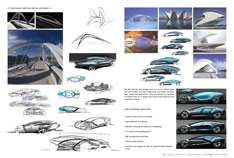 VW Viseo Concept - design sketches