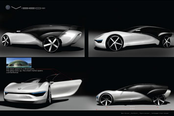 VW Viseo Concept - renderings