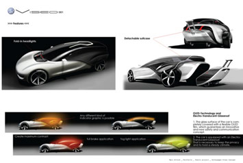 VW Viseo Concept - design panel