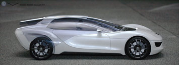 VW Viseo Concept - model