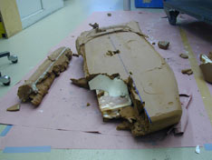 VW Viseo Concept - clay modeling