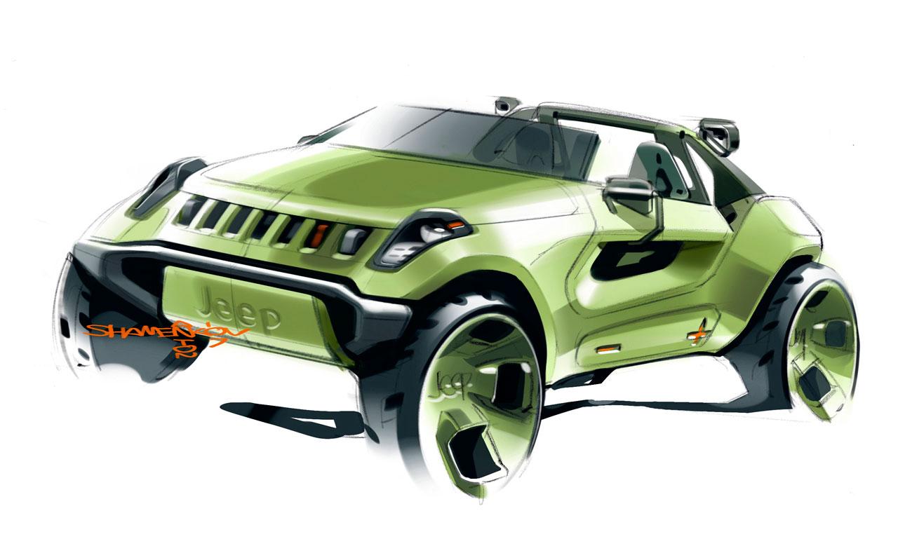 Jeep Renegade Concept Preview Car Body Design