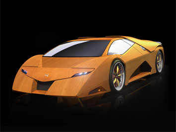 Splinter: the wooden concept car