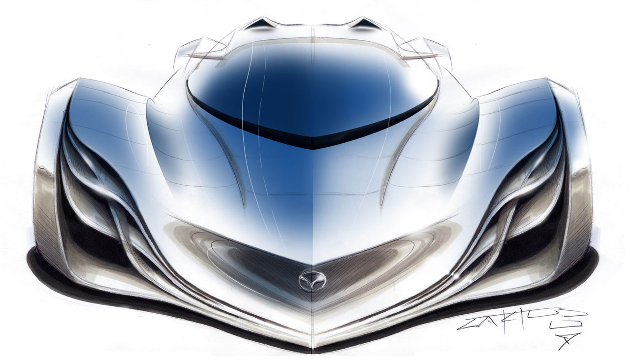 Luxury Mazda Furai Car Photos