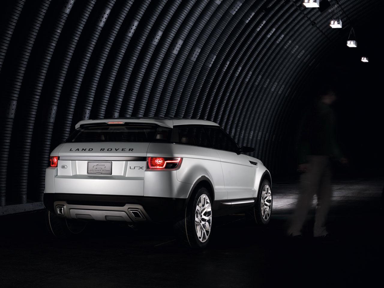 Land Rover LRX Concept - Car Body Design