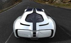 Motorcity Europe MC1 Concept - Rear view