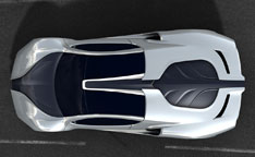 Motorcity Europe MC1 Concept - Top view