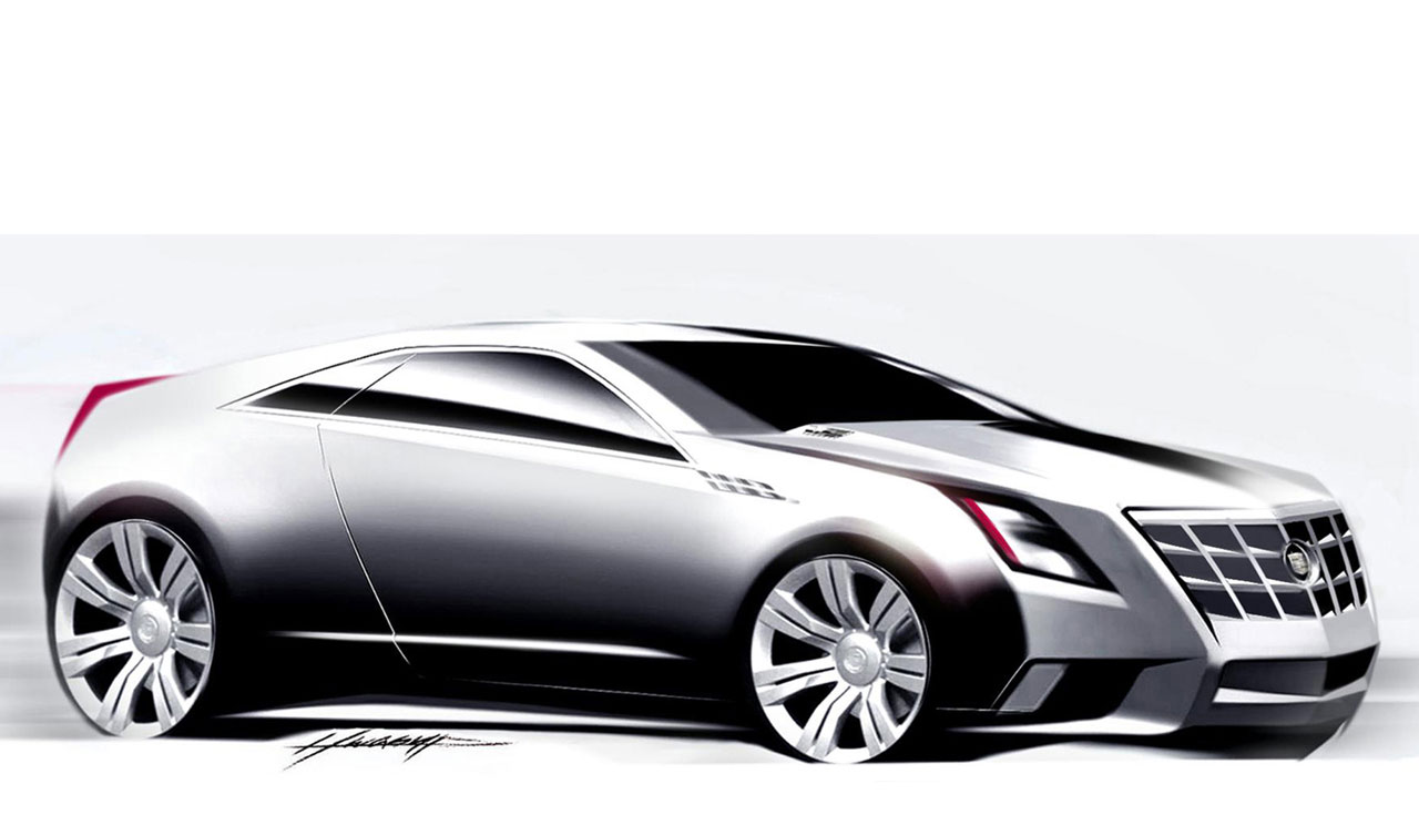 Cadillac CTS Coupe Concept  Car Body Design