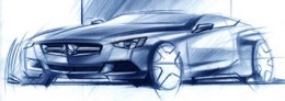 Mercedes-Benz CLC design sketch
