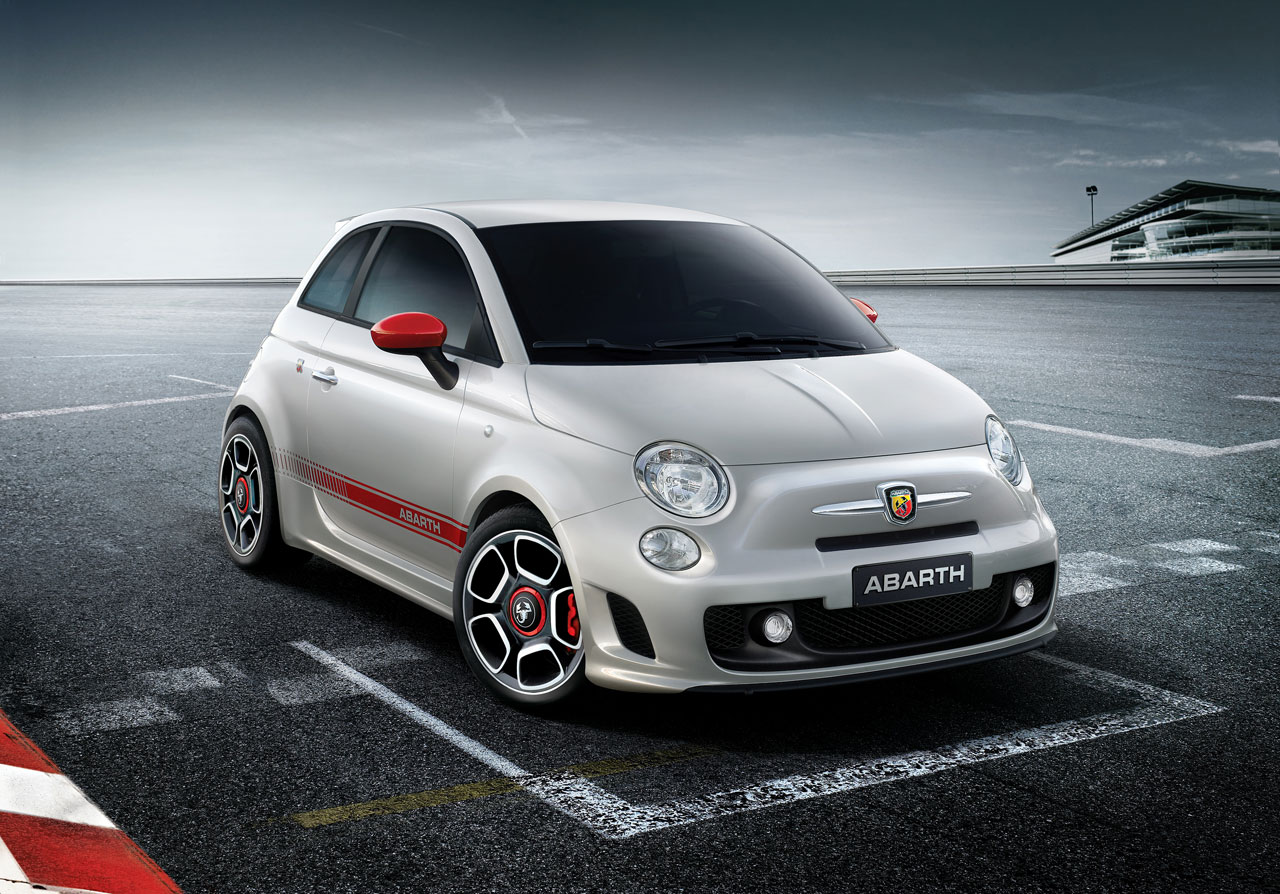 Abarth 500 Preview Car Body Design