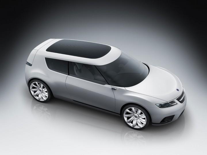 Saab 9 X Biohybrid Concept Car Body Design