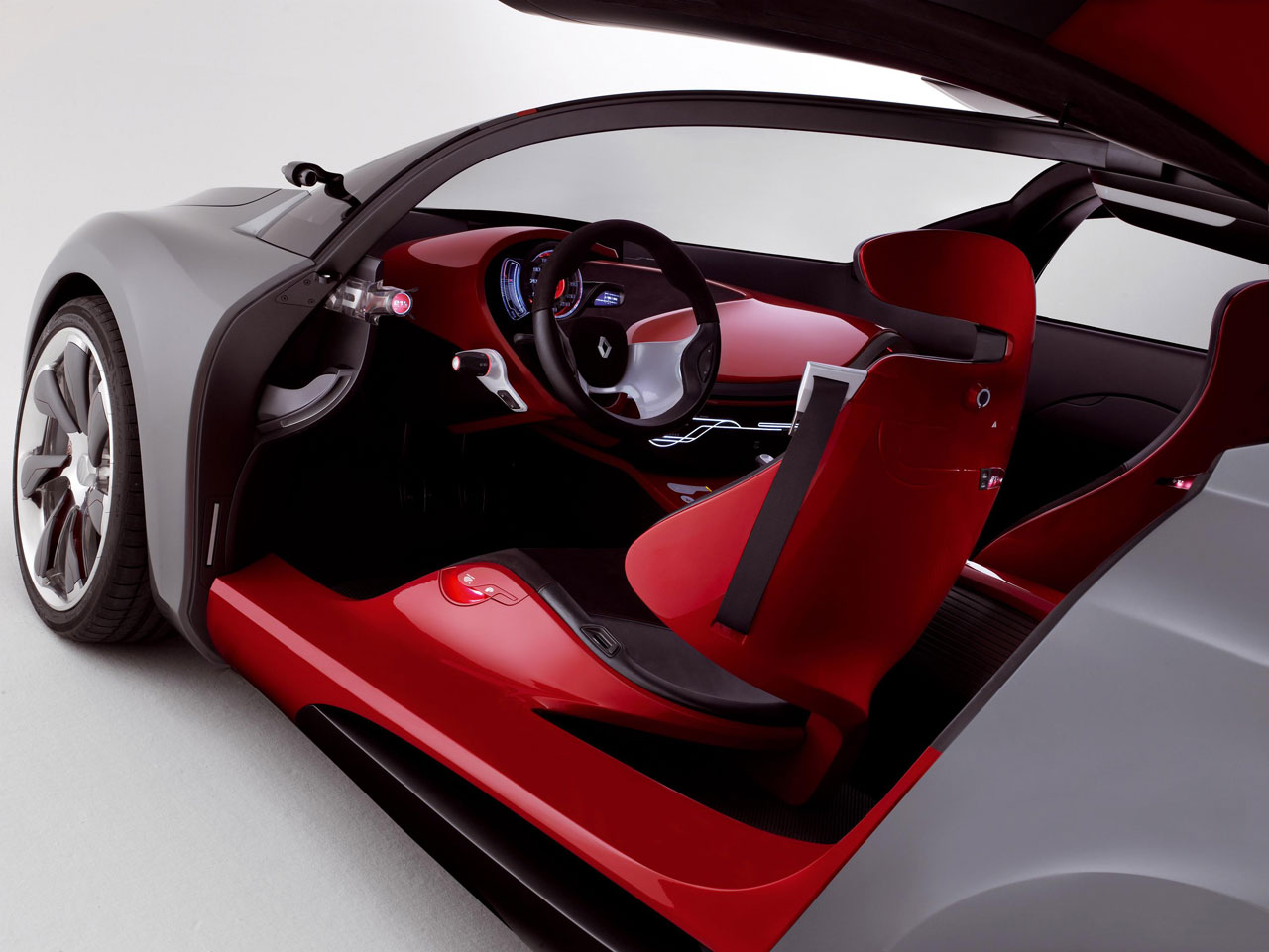 Renault Megane Coupe Interior Megane Coupe Concept Renault