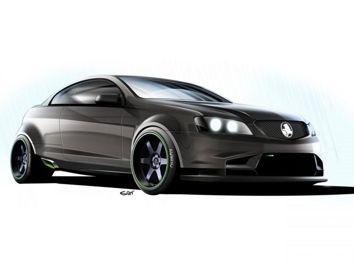 Holden Coupe 60 Concept Car Body Design