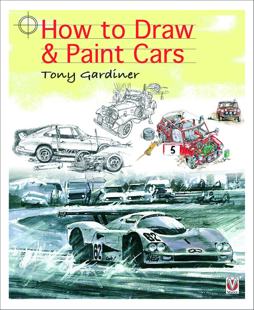 How to Draw and Paint Cars - cover