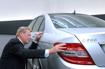 Peter Pfeiffer and the Mercedes-Benz C-Class Estate