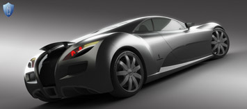 Voisin Concept by Lusomotors - rendering