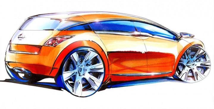 Nissan Evalia Concept 2003 Car Body Design