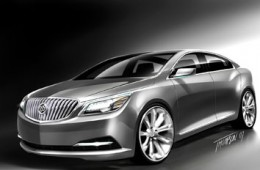 Buick Invicta design sketch