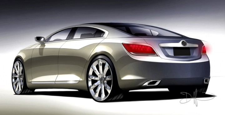Buick Invicta Concept Car Body Design