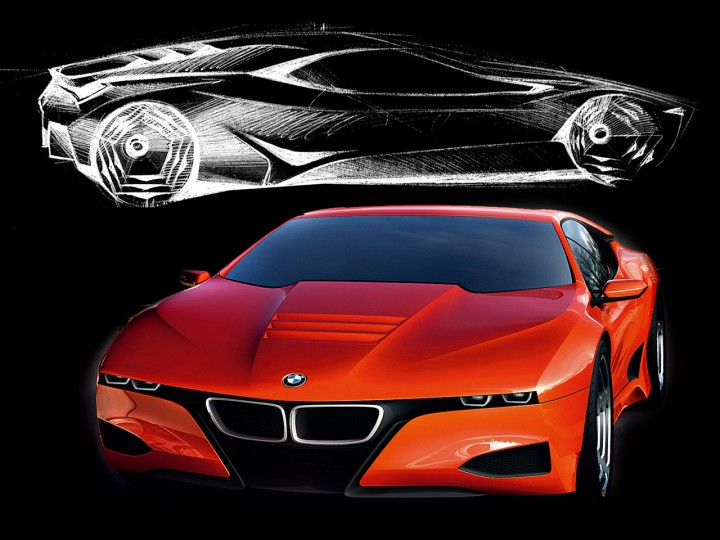 Bmw M1 Homage - Car Body Design