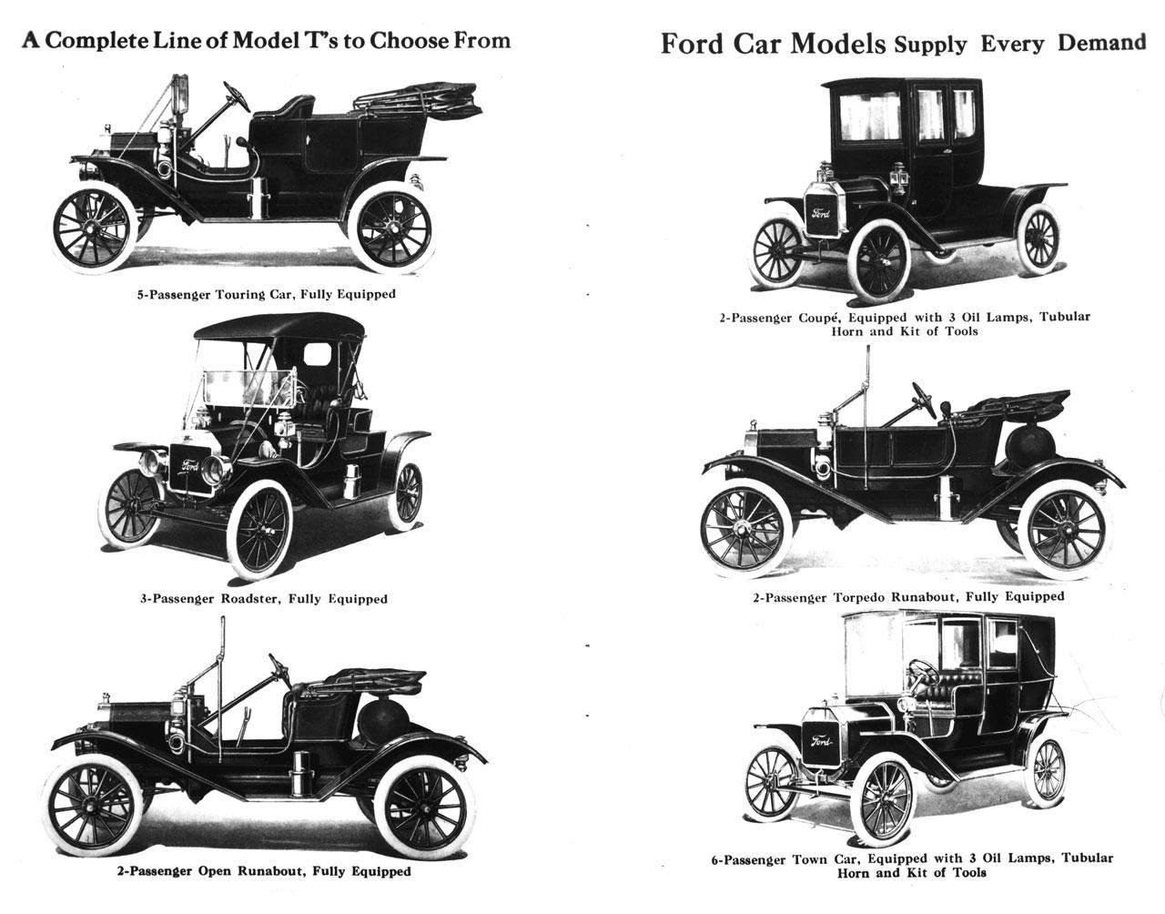 Форд модел т