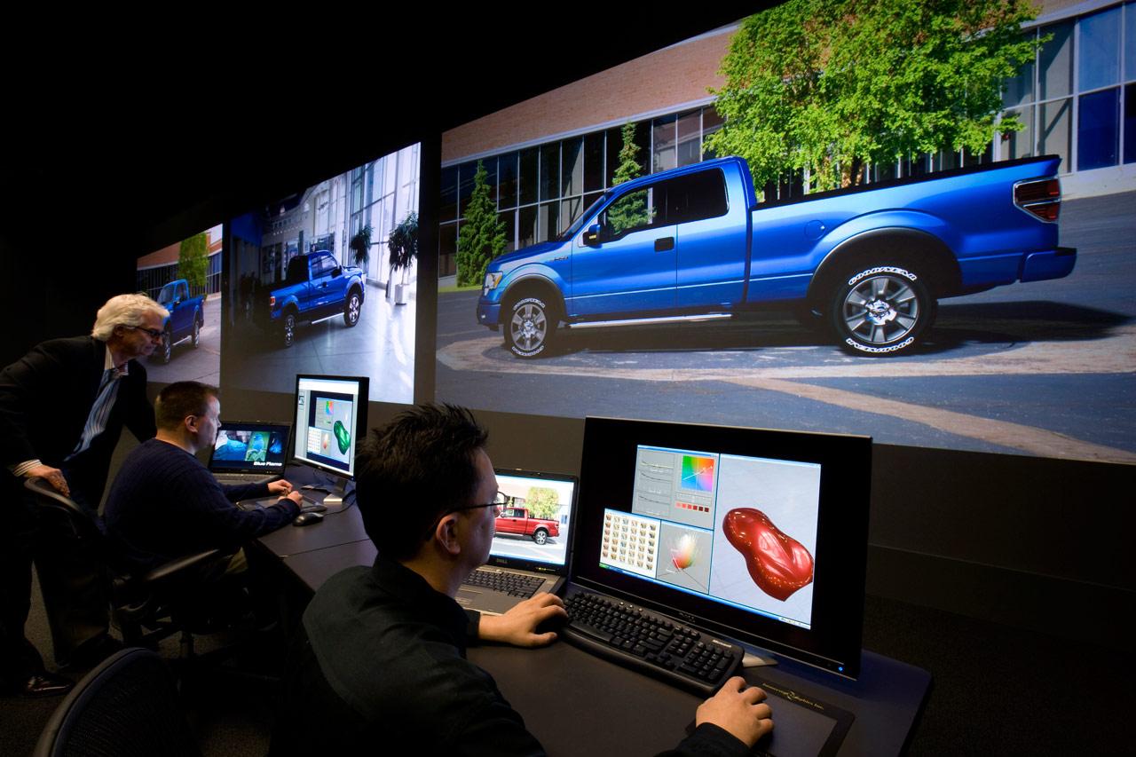 virtual color lab car body design