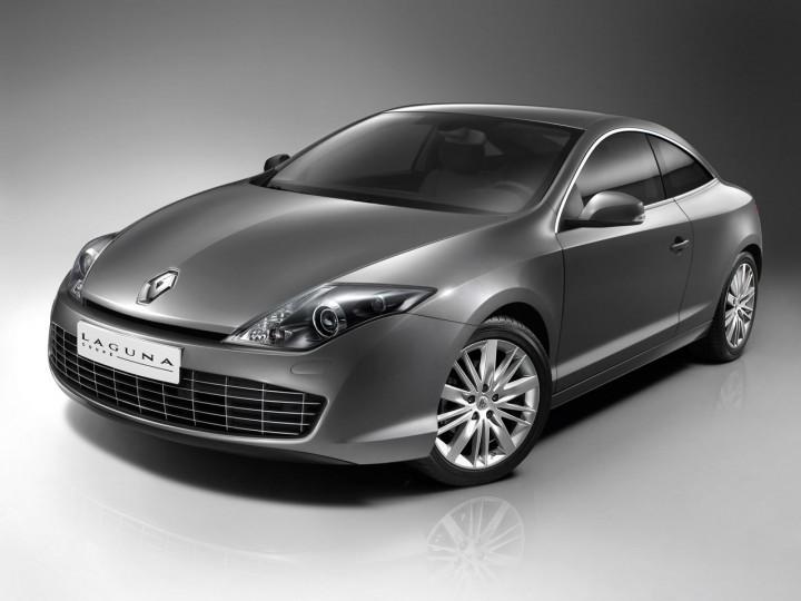 Renault Laguna Coup Car Body Design