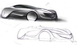 Mazda Taiki design sketches