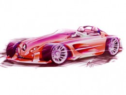 Mercedes-Benz Concept design sketch