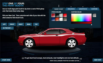 Dream design drive challenge car body design Custom car designer online