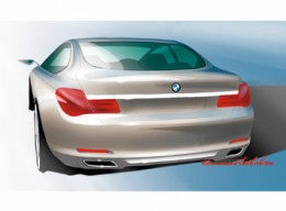 BMW 7 Series design sketch