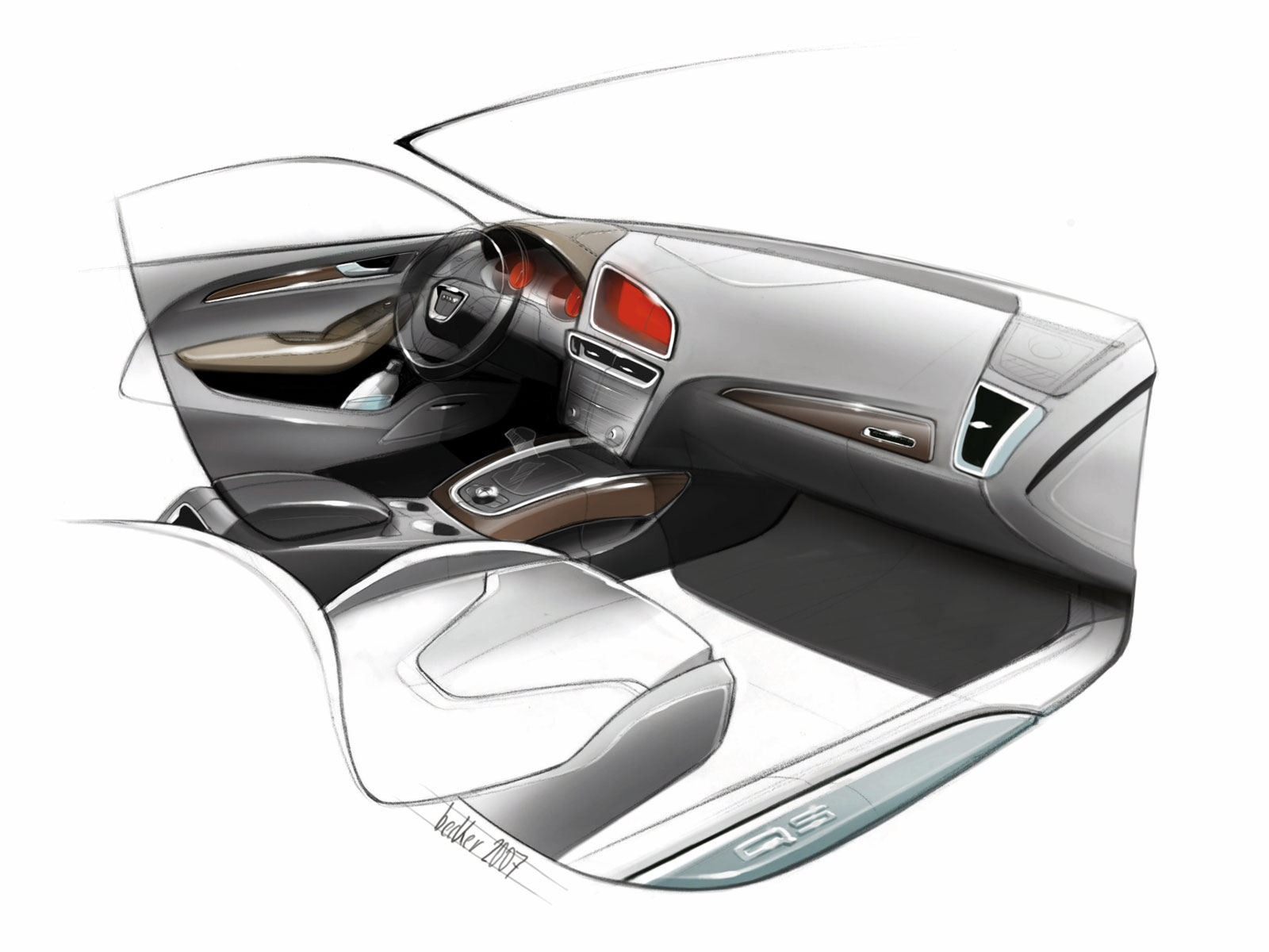 Interior design ideas automotive interior designs - Car interior design ...