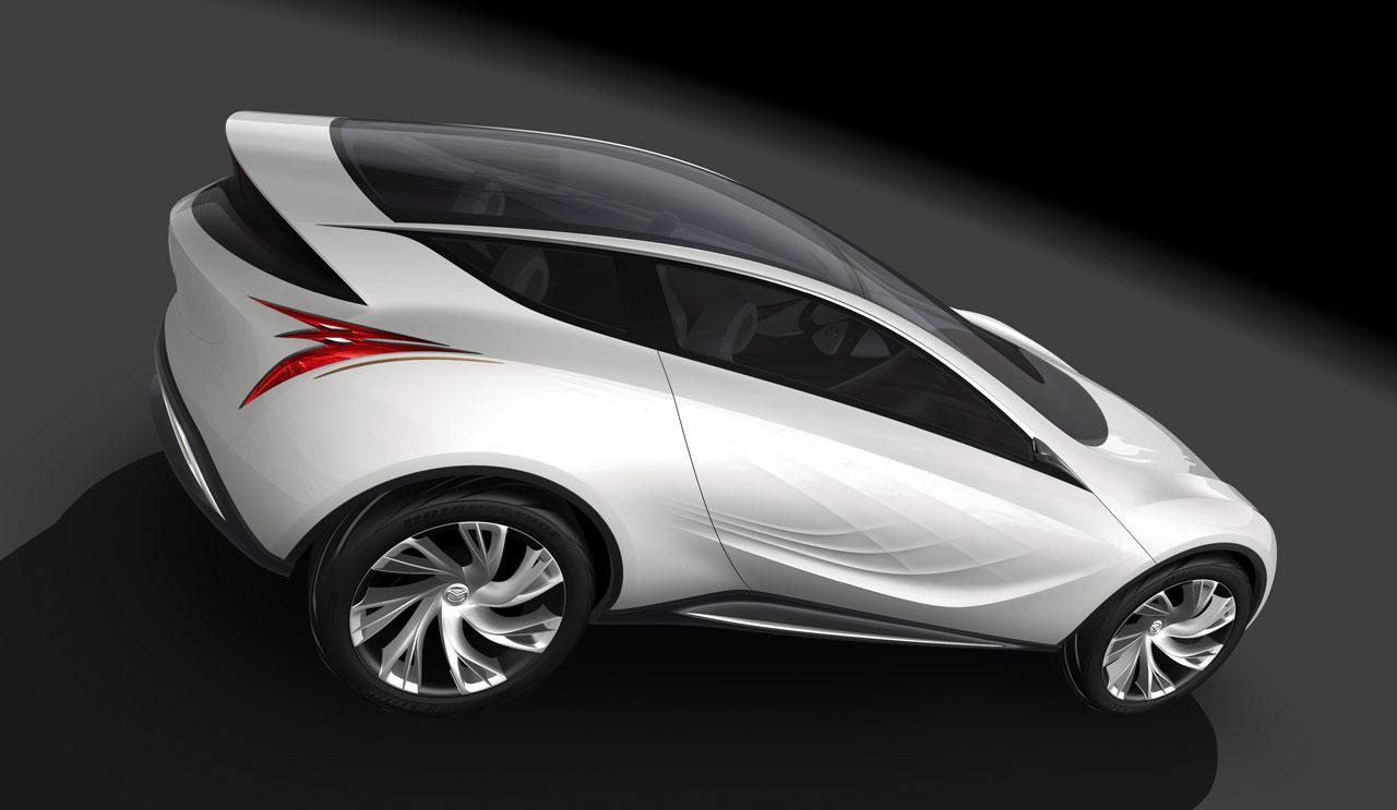ماشین مزدا کازامای شیک - 4 --- عکس با کیفیت از ماشین شیک مزدا کازامای با طراحی فوق العاده زیبا - Mazda Kazamai Concept