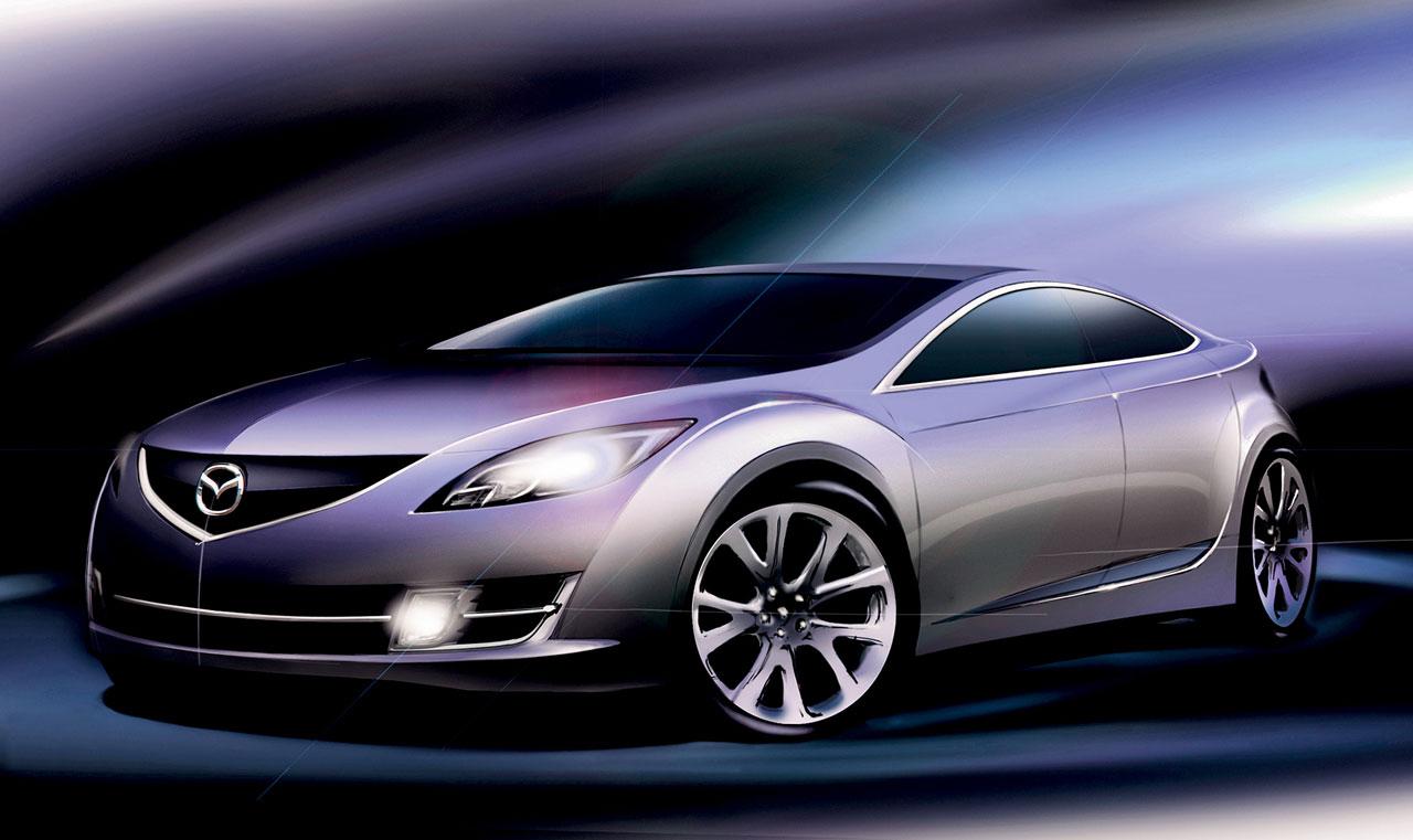 [Présentation] Le design par Mazda - Page 2 Mazda-6-Design-Sketch-3-lg