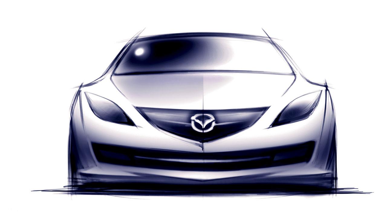 [Présentation] Le design par Mazda - Page 2 Mazda-6-Design-Sketch-4-lg