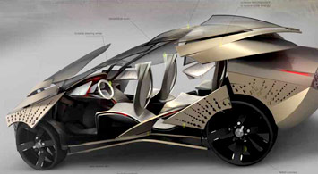BMW Africa Concept - Design sketch