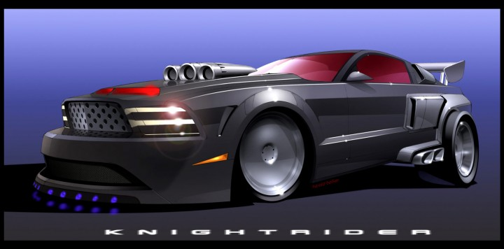 Shelby Gt500kr The New Knight Rider S Kitt Car Body Design