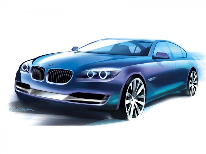 Bmw 7-Series ActiveHybrid Concept - Car Body Design