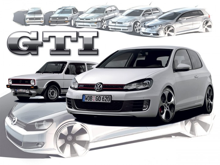 The history of the Golf GTI (1975-2008)