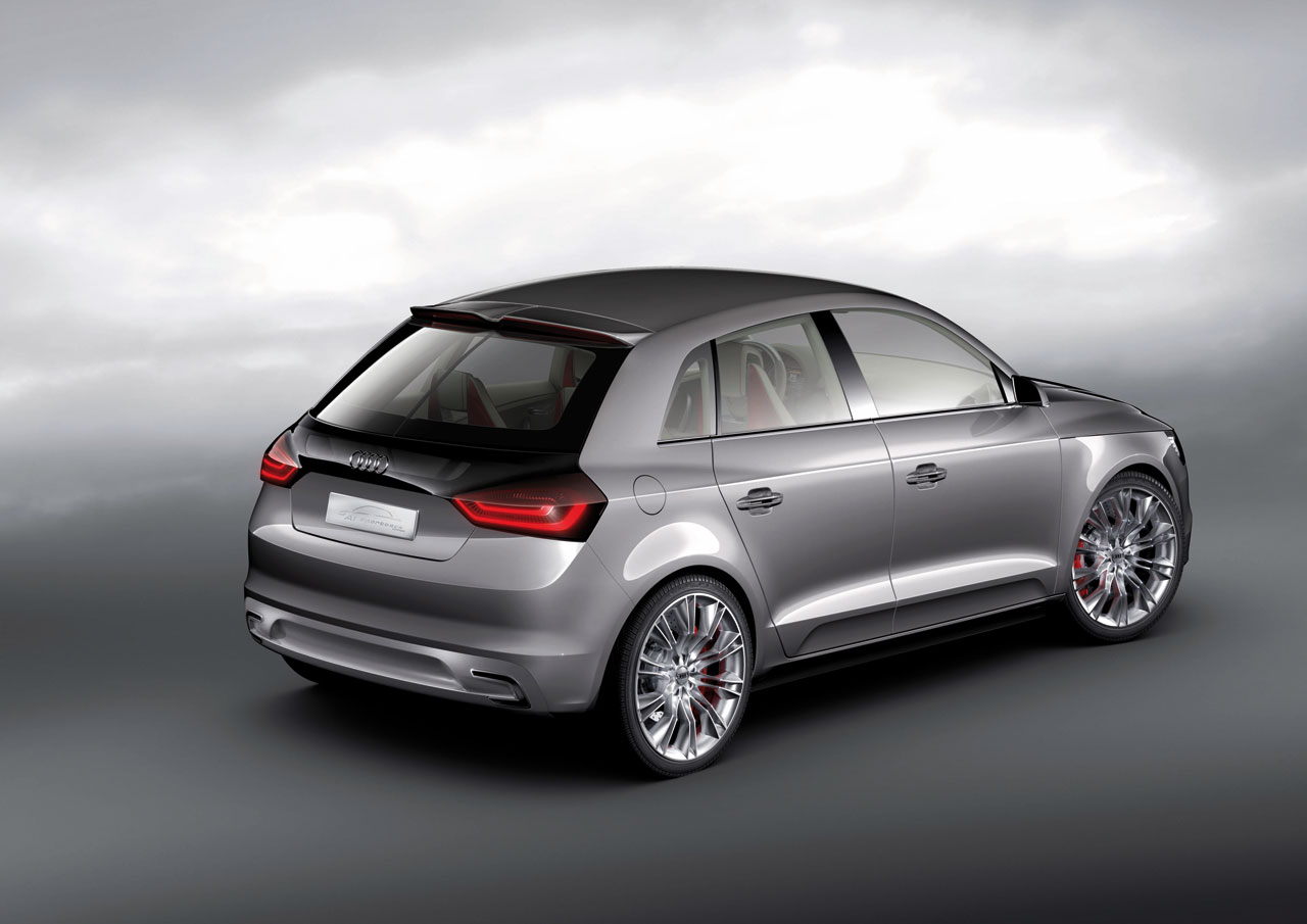 audi a1 sportback concept car body design. Black Bedroom Furniture Sets. Home Design Ideas
