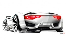 Citroen GT Concept Design Sketch