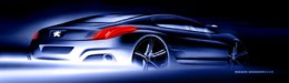 Peugeot RC HYmotion4 Design Sketch