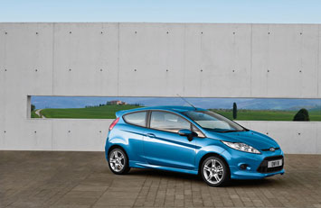 Ford Fiesta For the Titanium series an Aesthetic Lighting Pack enhances the use of colour even further. with a dome light comprising two small LEDs ... & AUTO HOUSE: Ford Fiesta: design story markmcfarlin.com