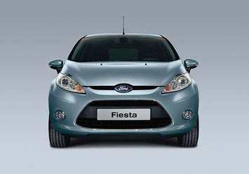 Ford Fiesta - front view