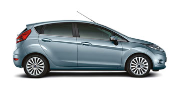 Ford Fiesta - side view