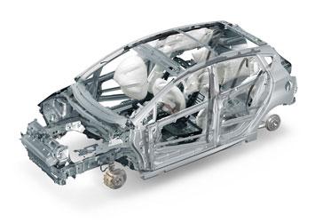 Ford Fiesta Body In White