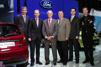 Ford Fiesta Design Team At Geneva 2008