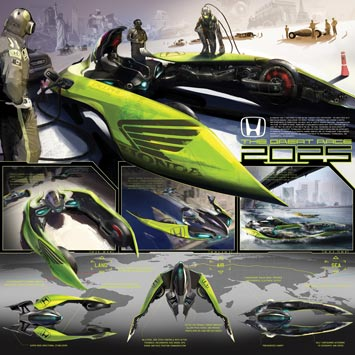 Honda The Great Race 2025 Design Panel