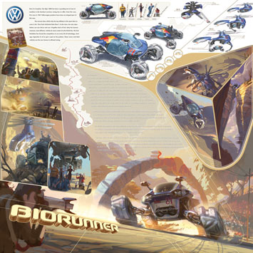 Volkswagen Biorunner - Design Panel