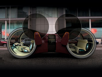 Interior Design on The Volkswagen T6 Concept Is A Large Urban Vehicle With An Interior